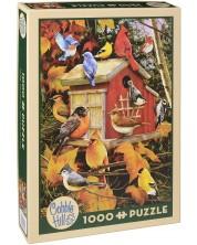 Puzzle Cobble Hill de 1000 piese - Pasari de toamna