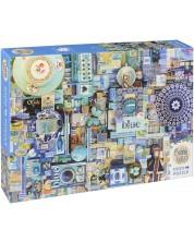 Puzzle Cobble Hill de 1000 piese - Albastru, Shely Davis