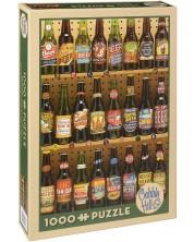 Puzzle Cobble Hill de 1000 piese - Colectie de bere