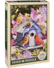 Puzzle Cobble Hill de 1000 piese - Casuta de primavara pentru pasari