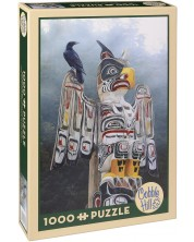 Puzzle Cobble Hill de 1000 piese - Totem in ceata, Tery Isaak