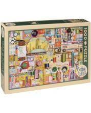 Puzzle Cobble Hill de 1000 piese -Accesorii de croitorie, Shelley Davis