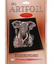 Set creativ pentru gravura KSG Crafts - Elefant -1