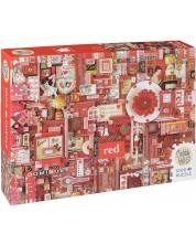 Puzzle Cobble Hill de 1000 piese - Rosu, Shely Davis