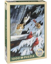 Puzzle Cobble Hill de 1000 piese - Observatorii de pasari