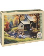 Puzzle Cobble Hill de 1000 piese - Povestea pescarului, Mark Keathley