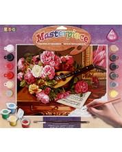 Set creativ de desen KSG Crafts - Capodopera, Trandafiri -1