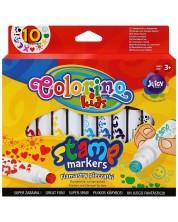 Stampila colorate Colorino Kids - sub forma de markere -1