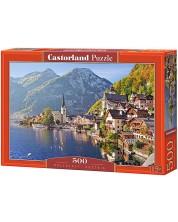 Puzzle Castorland de 500 piese - Hallstatt, Austria