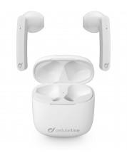 Casti Cellularline - Aries, true wireless, albe