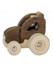 Jucarie din lemn Goki Nature - Tractor -1