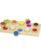 Joc de memorie din lemn Goki - Atingere
