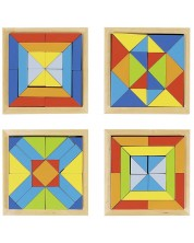 Mozaic din lemn Goki - Lumea formelor -1