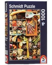 Puzzle Schmidt de 1000 piese - Condimente exotice