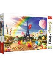 Puzzle Trefl de 1000 piese - Dulcele Paris