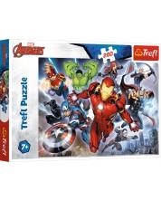 Puzzle Trefl de 200 piese - Mighty Avengers