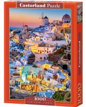 Puzzle Castorland de 1000 piese - Luminile din Santorini