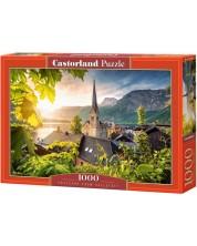 Puzzle Castorland de 1000 piese - Carte postala din Hallstatt