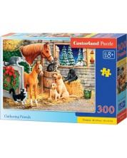 Puzzle Castorland de 300 piese - Adunarea prietenilor