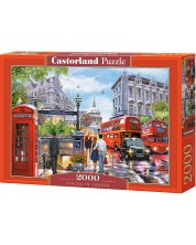 Puzzle Castorland de 2000 piese - Primavara la Londra