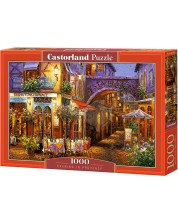 Puzzle Castorland de 1000 piese -  Seara in Provence, Viktor Shvaiko