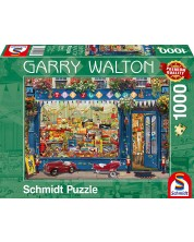 Puzzle Schmidt de 1000 piese - Magazin de jucarii, Garry Walton