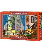 Puzzle Castorland de 1000 piese - Vedere a camerei cu usa, Dominic Davison