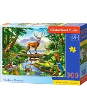 Puzzle Castorland de 300 piese - Armonia padurii