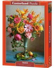Puzzle Castorland de 500 piese - Autumn Flowers