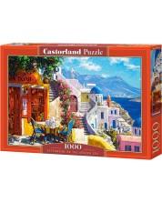 Puzzle Castorland de 1000 piese - O dupa amiaza in Marea Egee