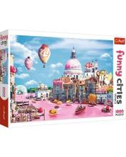 Puzzle Trefl de 1000 piese - Dulciuri in Venetia