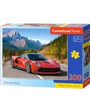 Puzzle Castorland de 200 piese - Sa conduci la munte