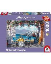 Puzzle Schmidt de 1000 piese - Intalnire in Mykonos, Sam Parck