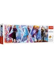 Puzzle panoramic Trefl de 1000 piese - Frozen 2