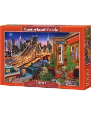 Puzzle Castorland de 1000 piese - Brooklyn Bridge Lights