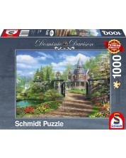 Puzzle Schmidt de 1000 piese - Conac idilic, Dominic Davison