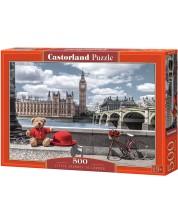 Puzzle Castorland de 500 piese - Calatorie la Londra