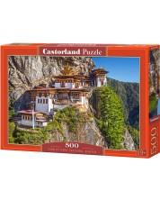 Puzzle Castorland de 500 piese - View of Paro Taktsang, Bhutan