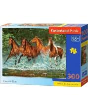 Puzzle Castorland de 300 piese - Cai alergand
