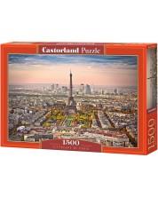 Puzzle Castorland de 1500 piese - Peisaj urban Paris
