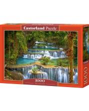 Puzzle Castorland de 1000 piese - Cascade, Adam Gibbs