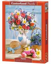 Puzzle Castorland de 500 piese - Spring in Flower Pot