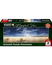 Puzzle panoramic Schmidt de 1000 piese - O intindere vasta, Manfred Voss