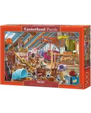 Puzzle Castorland de 500 piese - The Cluttered Attic
