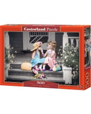 Puzzle Castorland de 500 piese - Atingeri finale