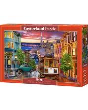 Puzzle Castorland de 500 piese - San Francisco Trolley