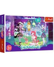 Puzzle Trefl de 30 piese - Enchantimals