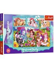 Puzzle Trefl de 200 piese - The Amazing World of Enchantimals