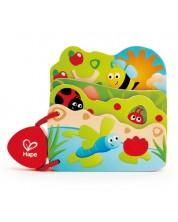 Carte din lemn Hape - Insecte -1