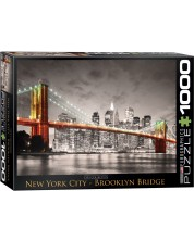 Puzzle Eurographics de 1000 piese – Podul Brooklyn, New York